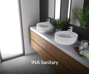INA SanitaryA trusted and primary choice for ceramic sanitary products.