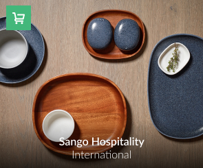 Sango Hospitality Stylish products for hospitality establishments to high volume catering businesses for whom quality, durability, functionality and first class design are essential factor.